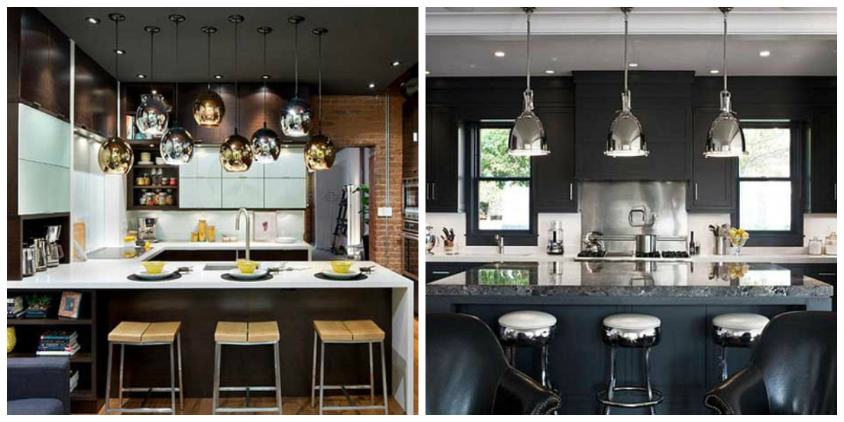 kitchen design ideas 2019, metal objects in kitchen design 2019