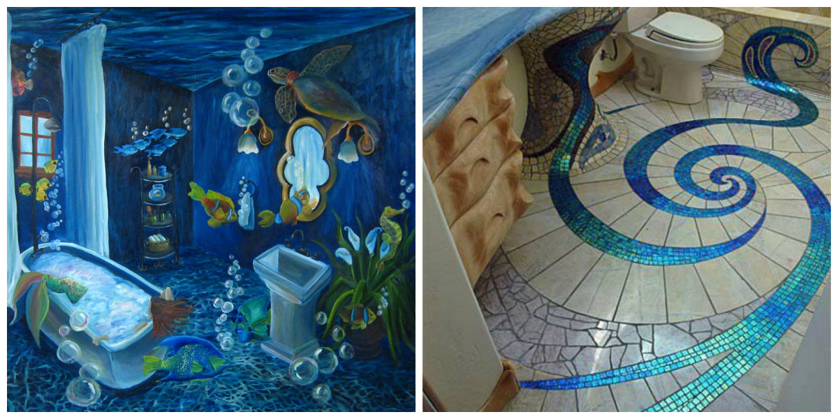 Ocean Themed Bathroom Trendy Mandatory Elements Of Ocean
