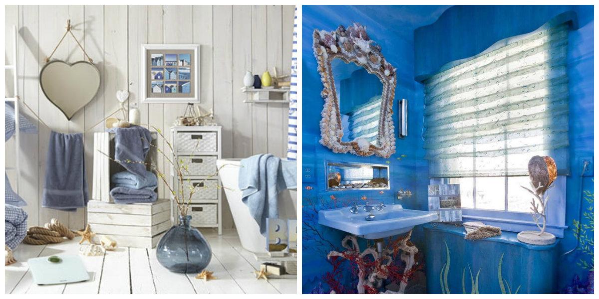 ocean themed bathroom, trendy mandatory elements for ocean bathroom