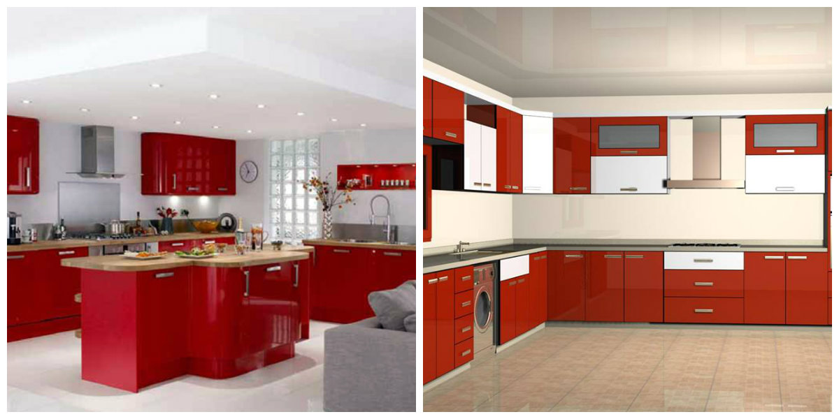 Popular kitchen colors 2019 fashionable shades for kitchen design in 2019 for Dynamic kitchen design interiors