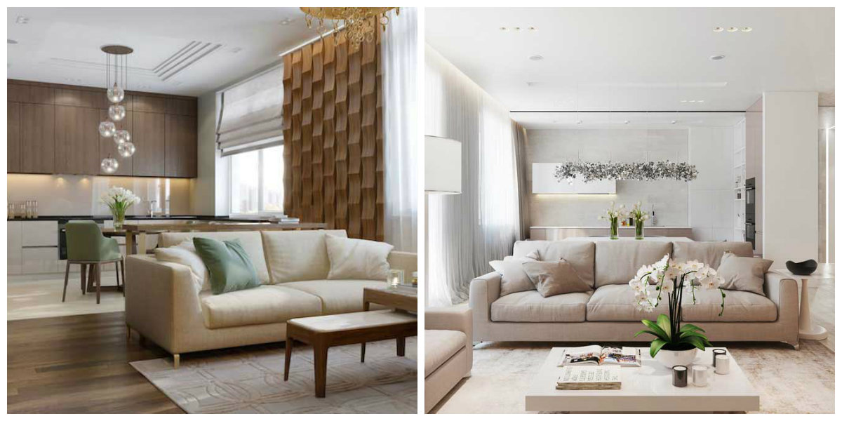 popular living room colors 2019, beige living room