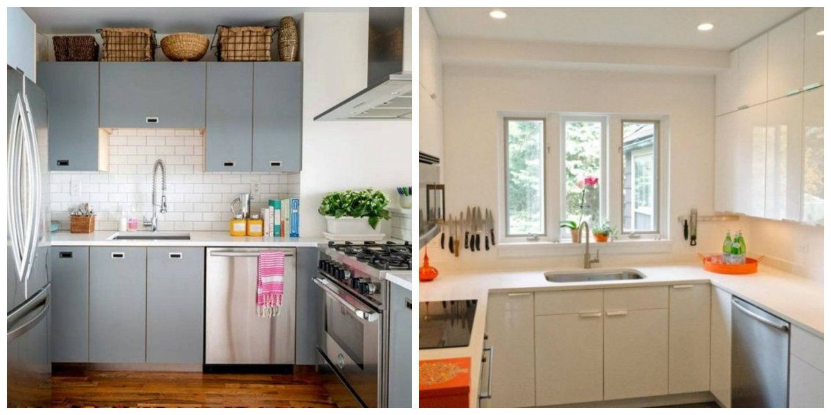 small kitchen ideas 2019, furniture design in small kitchen 2019