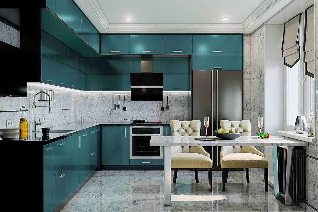Modern Kitchen Design 2020: Best Trends, Styles, Colors for Kitchen Design
